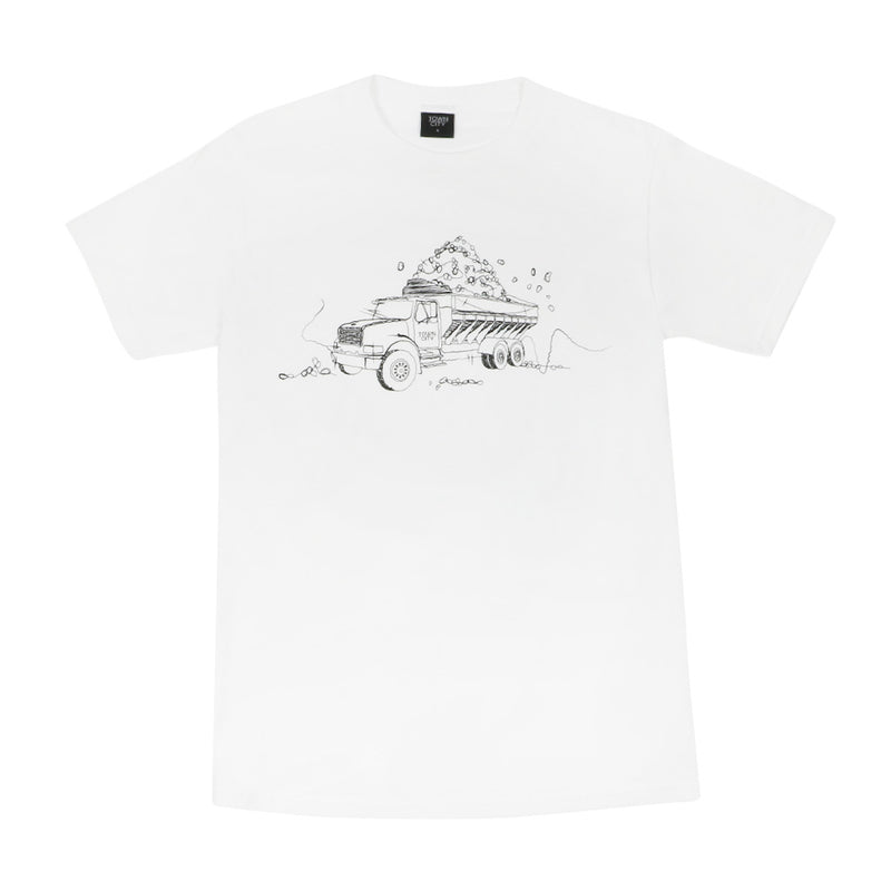 Town City Truck of Spuds T-Shirt - White - Town City