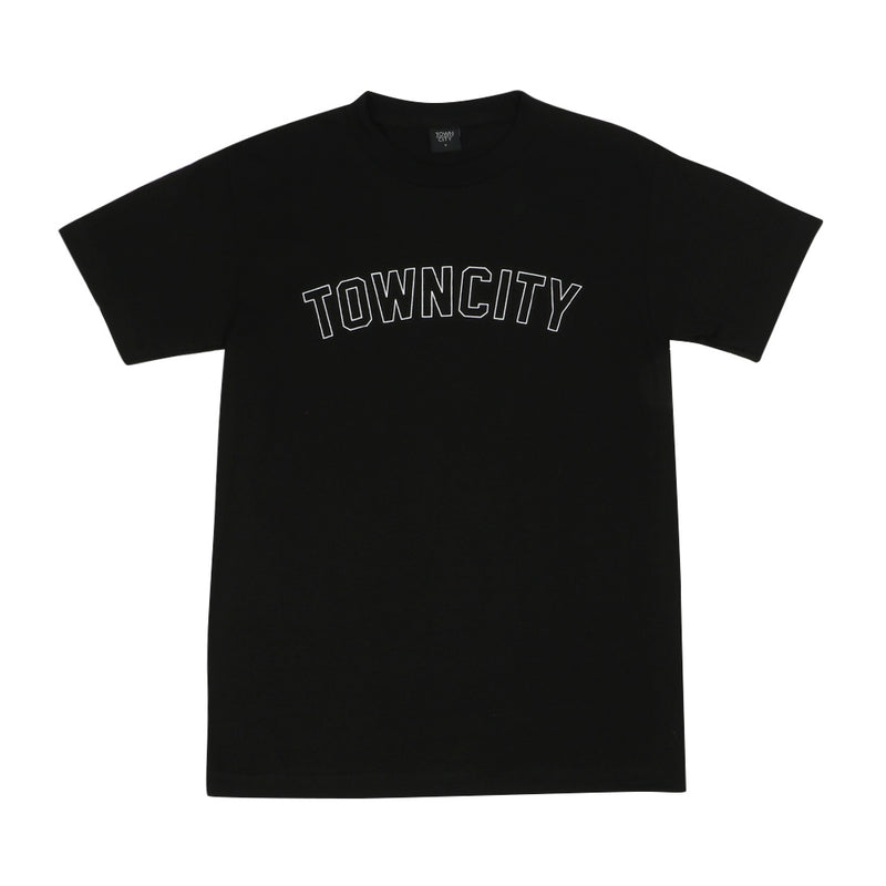 Town City Varsity T-Shirt - Black - Town City