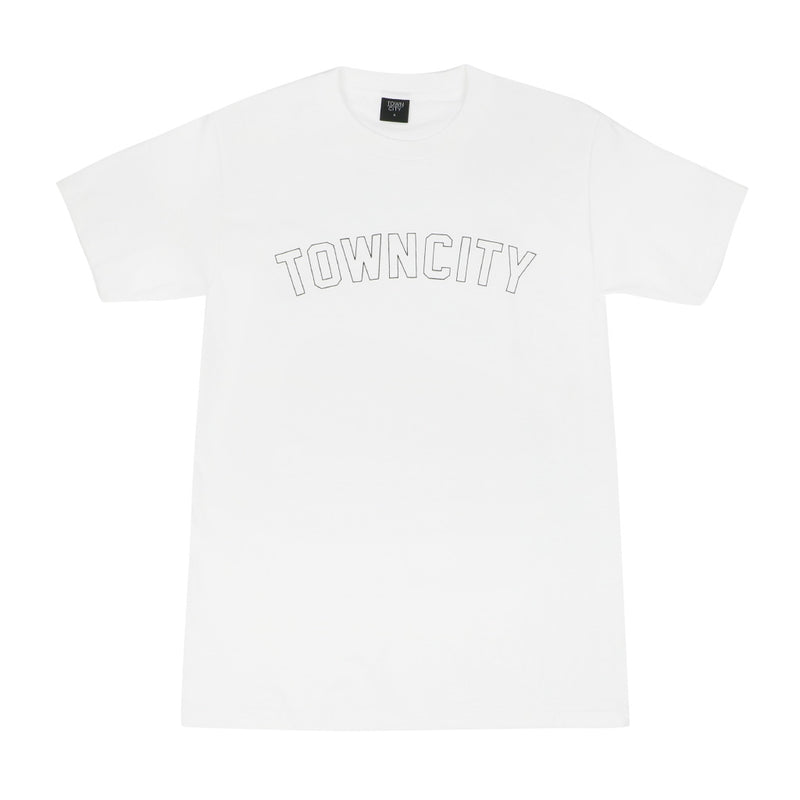 Varsity T-Shirt - White - Town City