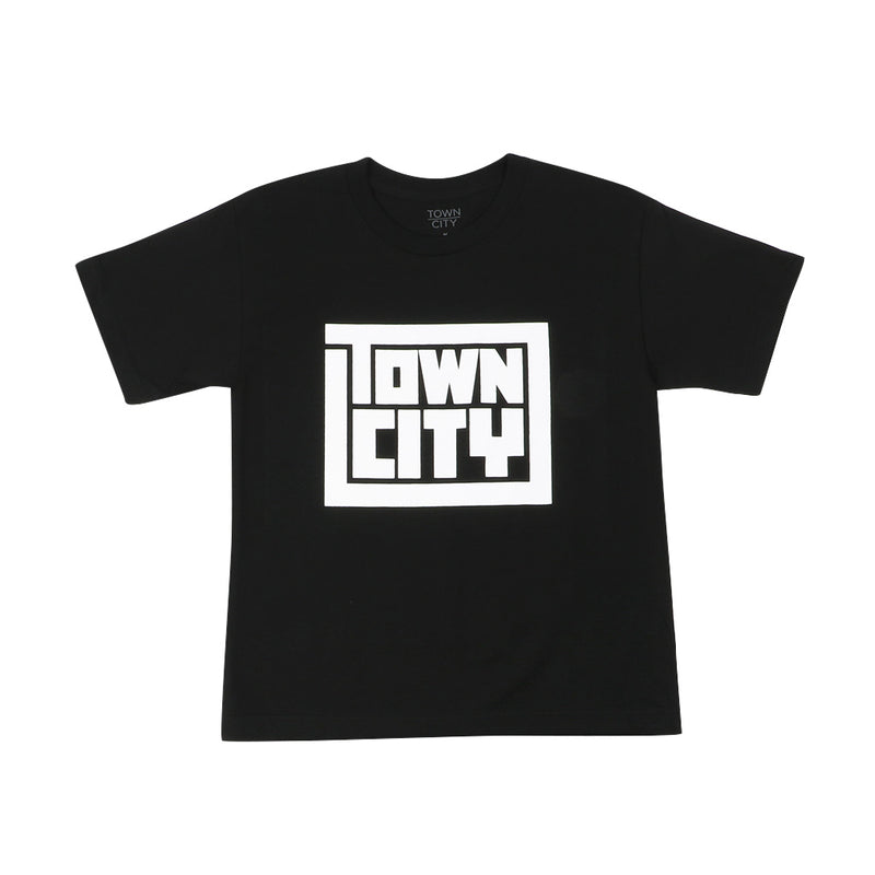 Town City Youth Block T-Shirt - Black - Town City