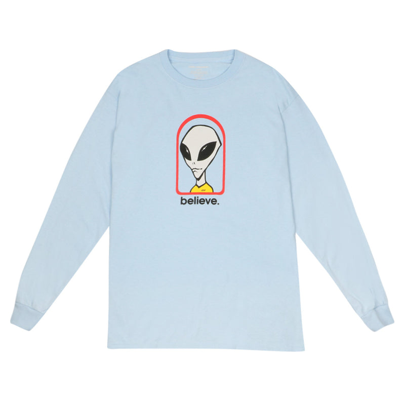 Believe Long Sleeve - Powder Blue