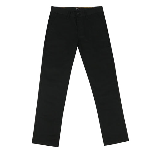 Brixton Reserve Chino Pant - Black - Town City