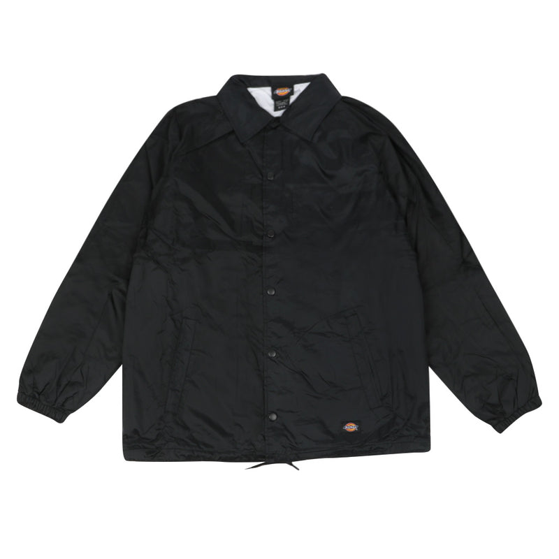 Dickies Nylon Coaches Jacket - Black - Town City