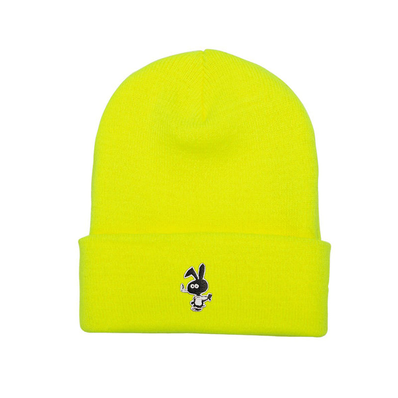 Cold Bunny Beanie - Safety Yellow