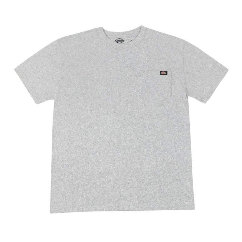 Dickies Heavyweight Pocket T-Shirt - Heather Grey - Town City
