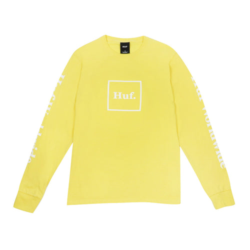 HUF Domestic Long Sleeve - Yellow - Town City