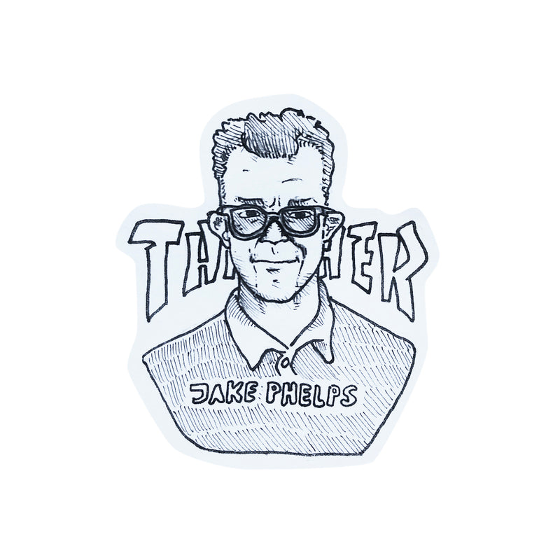 Felix Wendt Jake Phelps Sticker - Town City