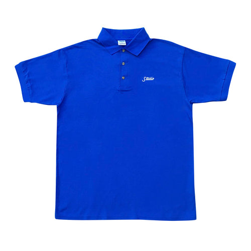 Small Script Polo - Royal - Town City