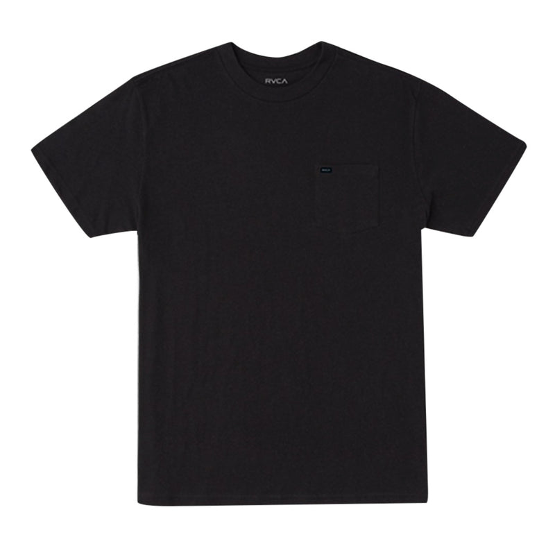 Solo Label Short Sleeve Tee - Black