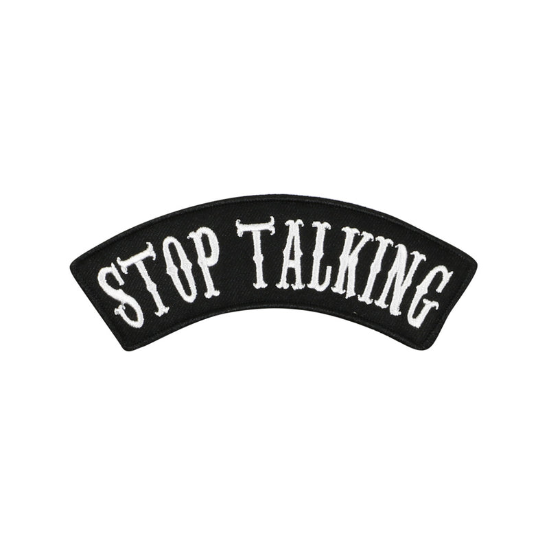 Stop Talking Patch