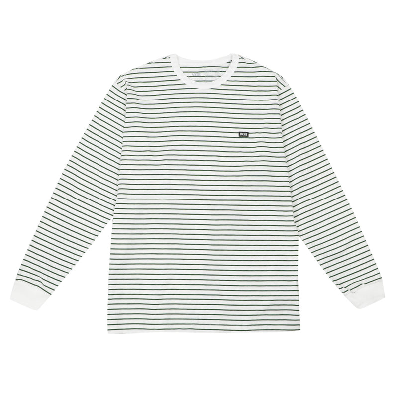Off The Wall Classic Stripe Long Sleeve - White/Pine