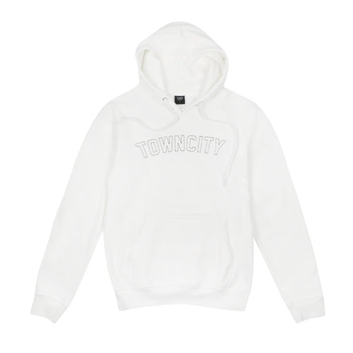 Town City Varsity Hoodie - White - Town City