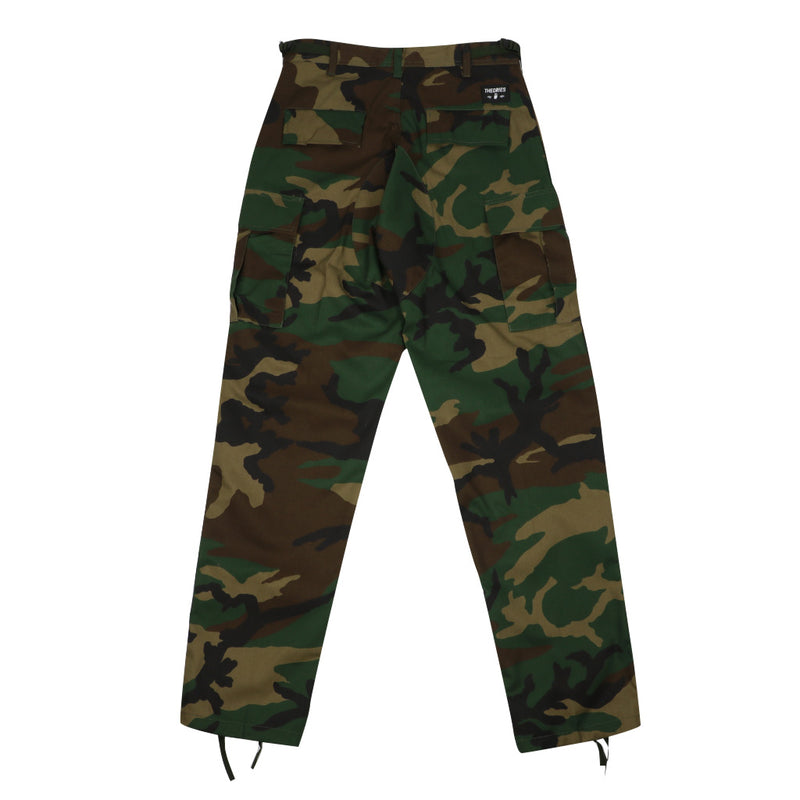 Theories Swat Cargo Pant - Camo - Town City