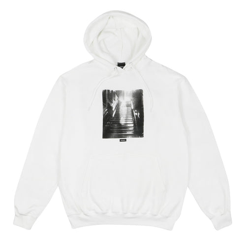 Apparition Pullover Hoodie - White - Town City