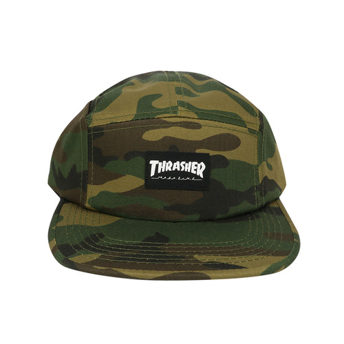 Thrasher 5 Panel Hat - Camo - Town City