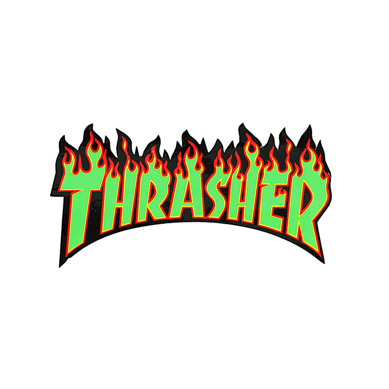 Thrasher Flame Sticker - Town City