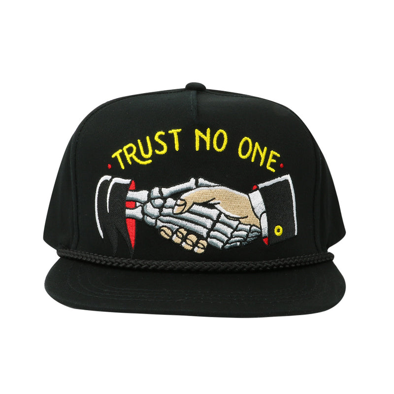 Trust No One Cap - Black