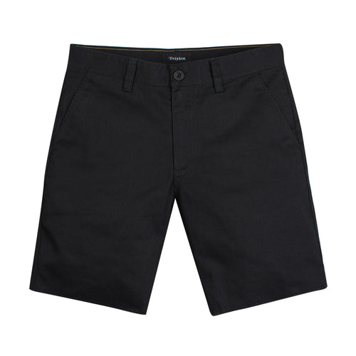 Brixton Toil II Hemmed Short - Black - Town City