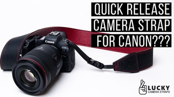 Using Our New Quick Release Camera Strap System with Canon Cameras