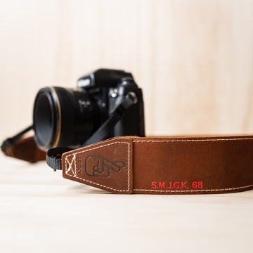 New Leather Camera Strap Personalisation Options Available!
