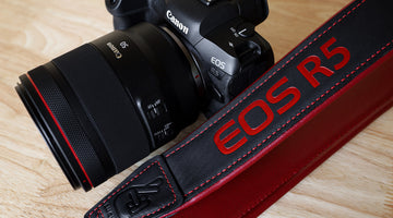 Creating the Limited Edition Canon EOS R5 Camera Strap