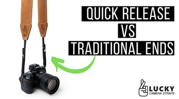 Video - Quick Release vs Traditional Ends on a Camera Strap