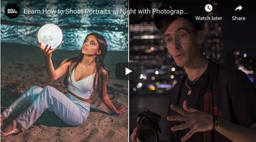 How to Shoot Amazing Night Portraits with NYC Photographer Brandon Woelfel
