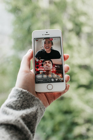 Use Instagram Live Streaming to grow your following