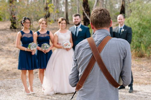 The Best Sized Camera Strap for Wedding Photographers