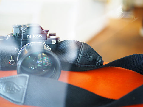 Lucky Camera Strap with DSLR