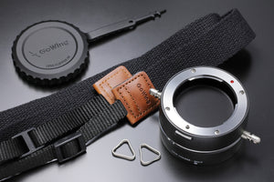 The best gift for photographers - Lens Flipper by Gowing - Lucky Camera Straps - genuine leather camera strap personalised handmade in Australia  - 2