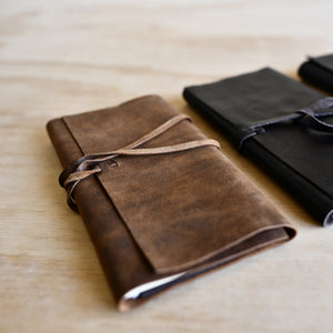 Leather Wrapped Journal