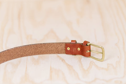 The best gift for photographers - Leather Belt - Natural Brown - Lucky Camera Straps - genuine leather camera strap personalised handmade in Australia  - 7