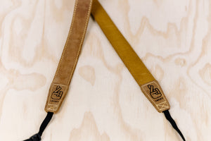 The best gift for photographers - Slim 30 - Classic - Brown/Tan - Lucky Camera Straps - genuine leather camera strap personalised handmade in Australia  - 3