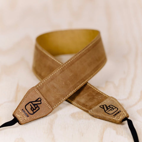 The best gift for photographers - Standard 53 - Classic - Brown/Tan - Lucky Camera Straps - genuine leather camera strap personalised handmade in Australia  - 2