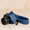 The best gift for photographers - Standard 53 - Classic - Ocean Blue - Lucky Camera Straps - genuine leather camera strap personalised handmade in Australia  - 9