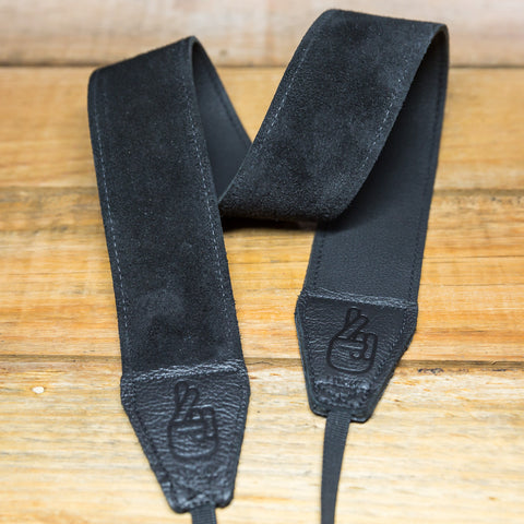 The best gift for photographers - Standard 53 - Grip - Black - Lucky Camera Straps - genuine leather camera strap personalised handmade in Australia  - 1