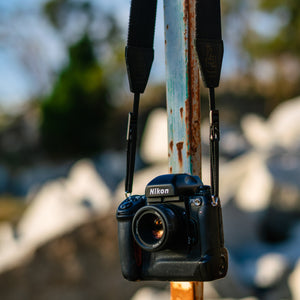 Lucky Straps Design Quick Release Camera Strap with Slide Adjustment
