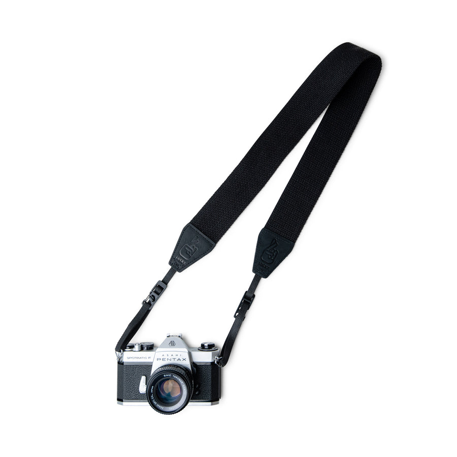 Slide Adjustable Quick Release Camera Strap with New Design Quick Release Clip System