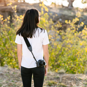 Most Comfortable Vegan Leather and Cotton Camera Strap
