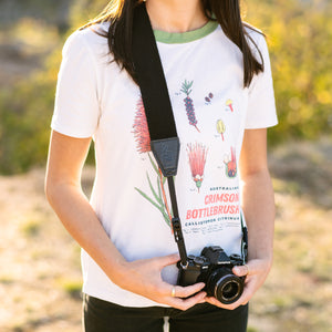 Quick Release Retro Vegan Leather Camera Strap