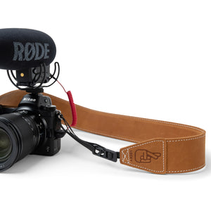 Anti-Theft Leather Camera Straps for Travelling Photographers and Vloggers