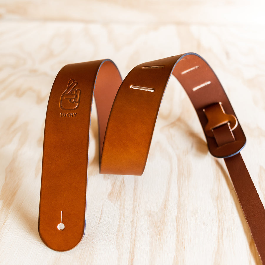 Simple Guitar Strap - Tan