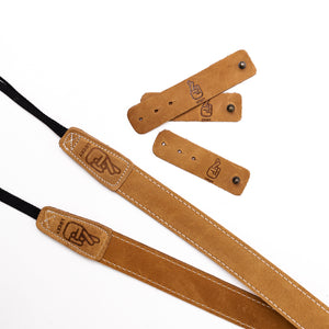 Leather Cable Ties - Desert Tan
