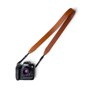 Premium Italian Leather Camera Strap Handmade in Australia by Lucky Straps