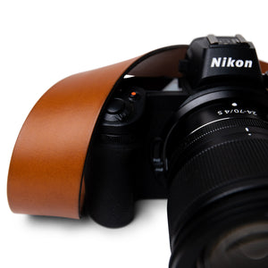 Custom Leather Camera Belt