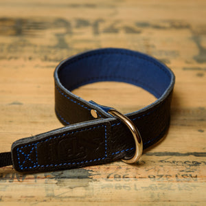 The best gift for photographers - Wrist Strap - Black/Blue - Lucky Camera Straps - genuine leather camera strap personalised handmade in Australia  - 1