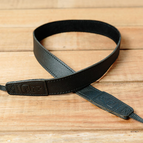 The best gift for photographers - Slim 30 - Grip - Black - Lucky Camera Straps - genuine leather camera strap personalised handmade in Australia  - 3