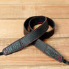 The best gift for photographers - Slim 30 - Grip - Black/Red - Lucky Camera Straps - genuine leather camera strap personalised handmade in Australia  - 1