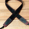The best gift for photographers - Slim 30 - Grip - Black/Red - Lucky Camera Straps - genuine leather camera strap personalised handmade in Australia  - 2